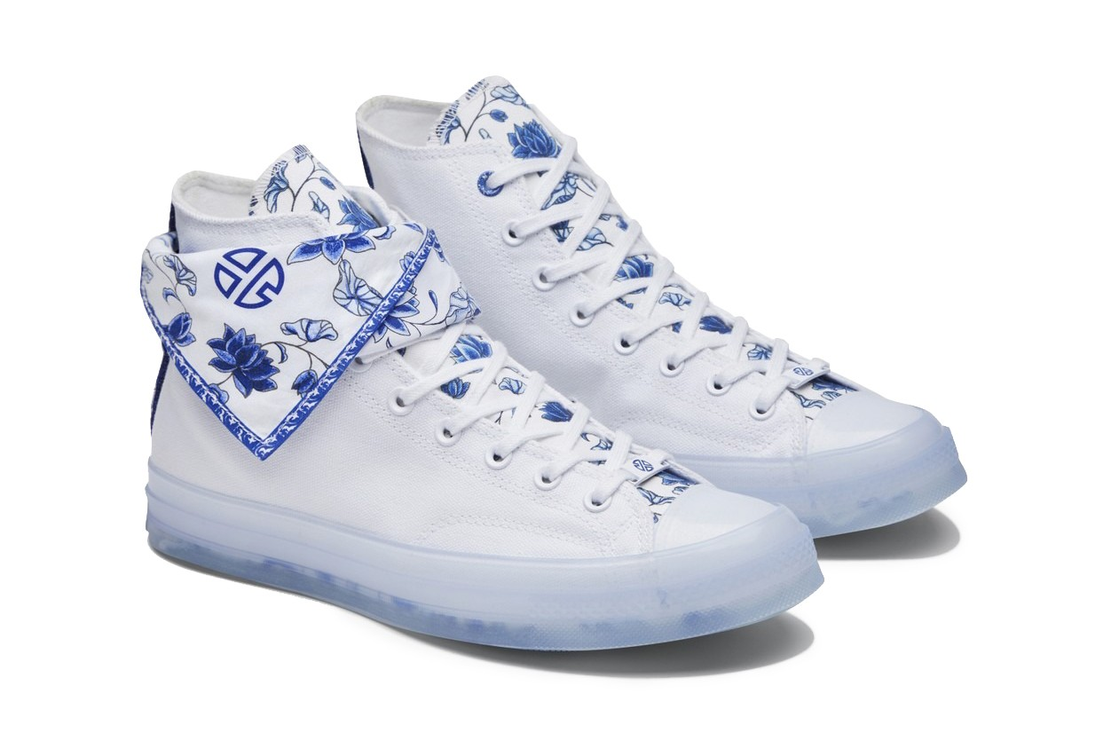 Lay Zhang x Converse Chuck Taylor Bandana Collaboration sneaker design release date info buy yixing china 70 張藝興
