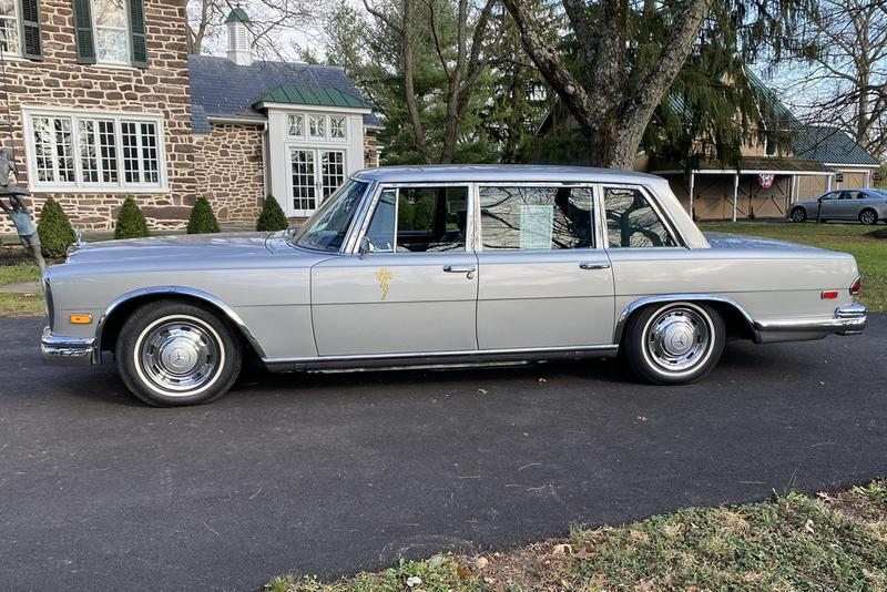 """1969 Mercedes-Benz 600 Elvis Presley Owned Graceland Merc Auction Bring a Trailer 6.3-liter M100 V8 Limo German Classic Car Luxury Four Door Sedan S-Class Pullman Maybach """"Taking Care of Business"""""""