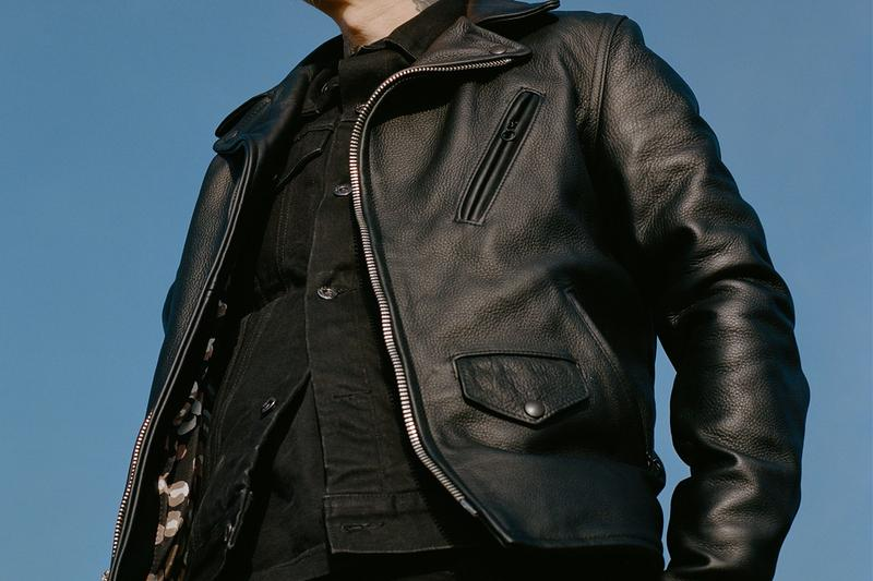 3sixteen Schott NYC Collab Leather Jacket Annual Limited Release Perfecto Hand-Sewn