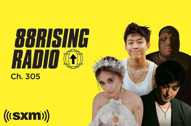 88rising radio siriusxm radio channel all asian artists rich brian joji niki dumbfoundead sosupersam sosupersounds