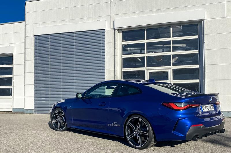 AC Schnitzer BMW 4-Series Body Kit Upgrades Visuals Performance German Tuning Automotive Company M4 Competition Widebody Aerodynamic Kidney Grille Exhaust Rims Wheels Trim
