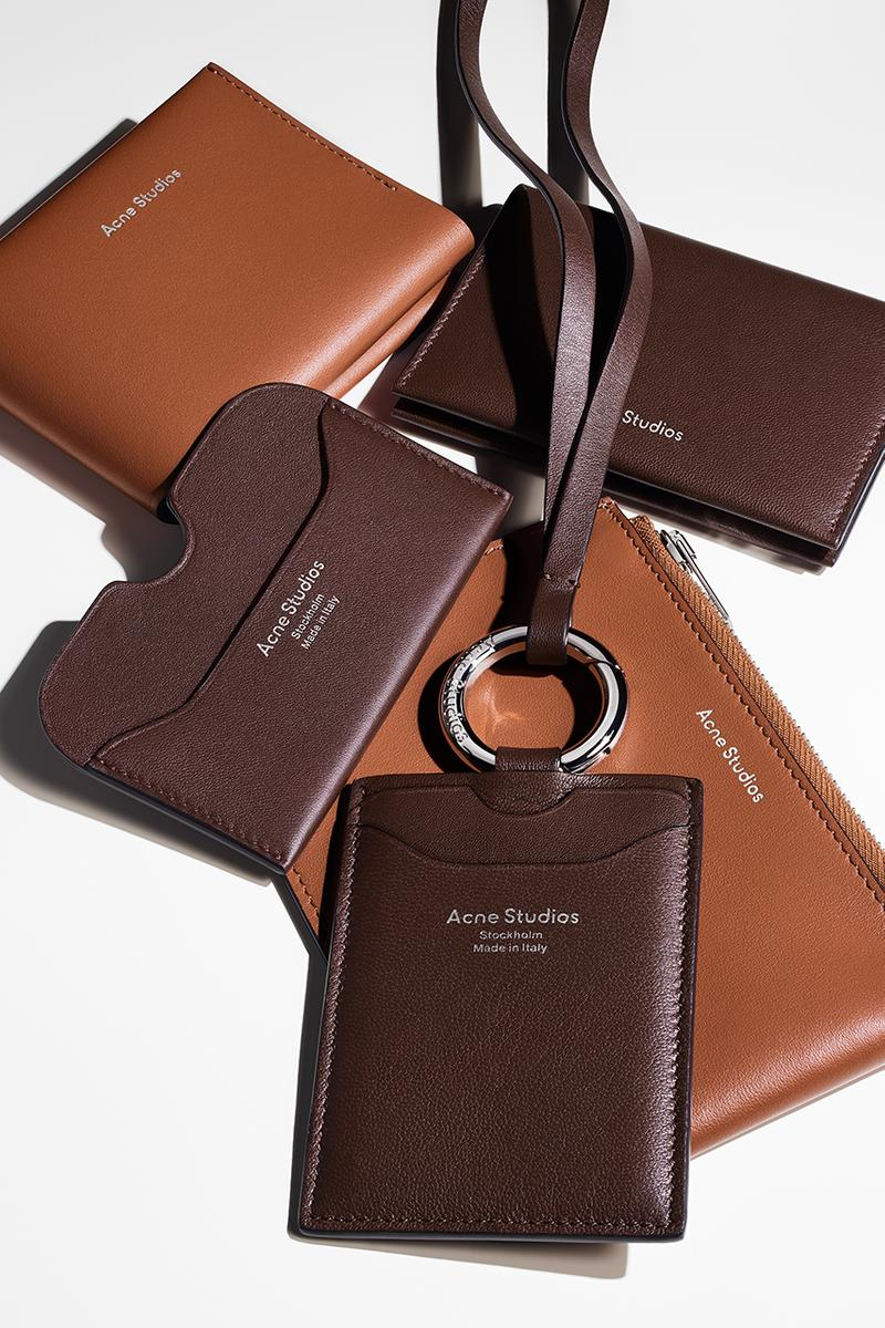 acne studios fall winter 2020 small leather goods release information details buy cop purchase