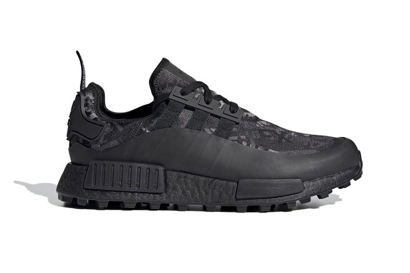 Adidas gore-tex NMD R1 trail all black release information boost midsole trail running