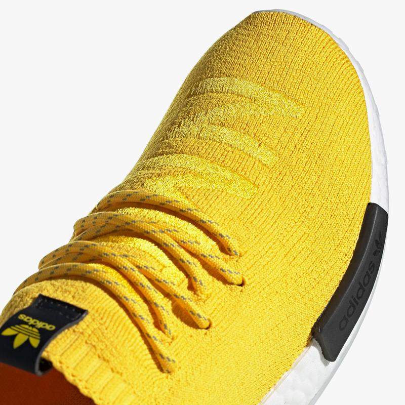 adidas originals nmd r1 pharrell hu S23749 eqt yellow core black white official release date info photos price store list buying guide