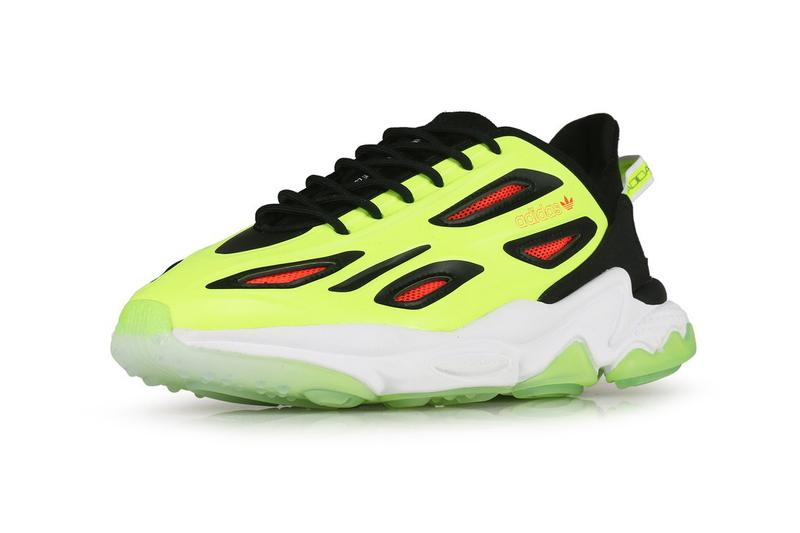 "adidas Originals Ozweego Celox ""Core Black / Solar Yellow / Solar Red"" H68622 Adiprene Adiprene+ EVA Midsole YEEZY 700 V3 Styling Drop Date Closer Look Release Information Technical Shoe Three Stripes Trefoil"