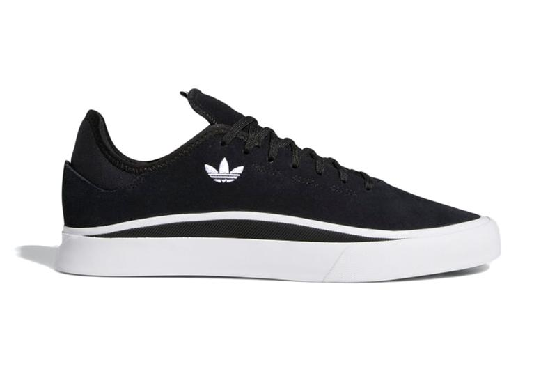 Adidas skateboarding sable black sneaker information release where to buy fisheye lens