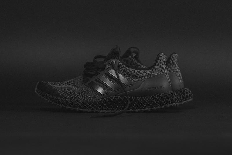 "adidas Ultra4D 5.0 ""Core Black/Carbon"" G58160 Sneaker Release Information Closer First Look Drop Date Cop 43einhalb Three Stripes 3D Printed Sole Unit Light Oxygen Resin Footwear Shoe Trainer"