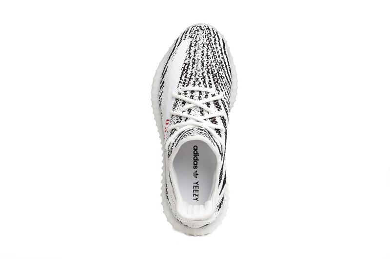 adidas yeezy boost 350 v2 zebra black white red december 2020 restock official release raffle date info photos price store list buying guide