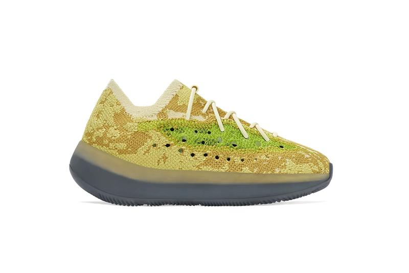 adidas yeezy boost 380 Hylite Lmnte Azure reflective glow brown yellow blue gold kids infants kanye west FZ4994 FZ4986 H02541 H02538 FZ4990 FZ4991 FZ4992 FZ4982 official release date info photos price raffle store list buying guide