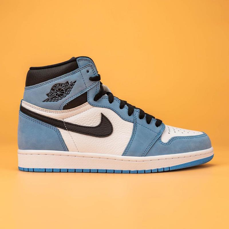 air jordan brand 1 university blue unc powder white black 555088 134 official release date info photos price store list buying guide