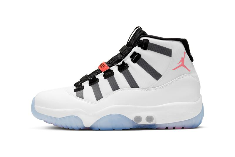 air michael jordan brand 11 adapt auto power lacing white black infrared da7990 100 official release date info photos price store list buying guide