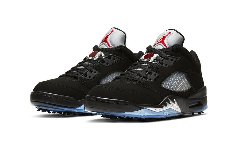 Air Jordan 5 Golf Black Metallic Release Info CU4523-003 Buy Price