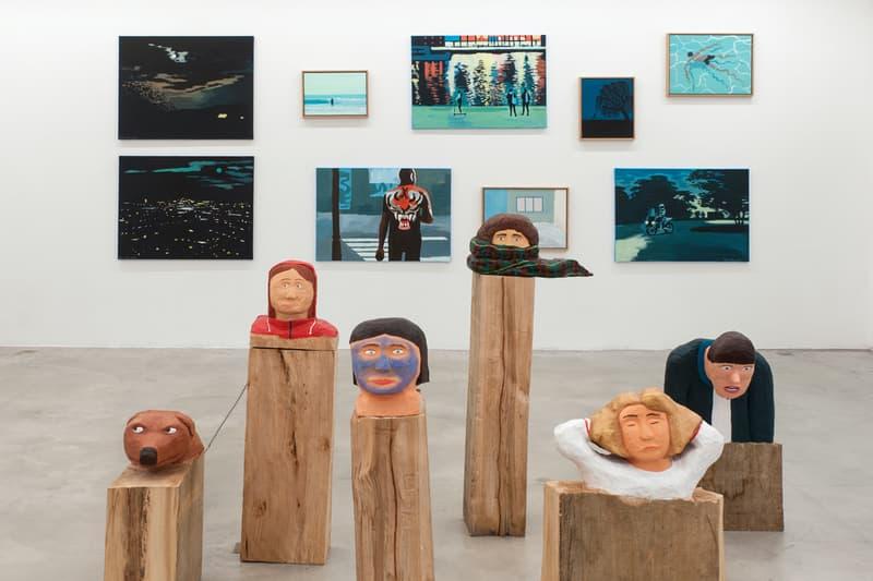 alice gallery brussels belgium group exhibition jean jullien artworks sculptures