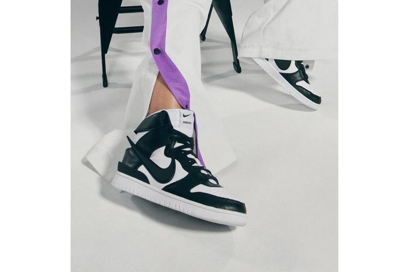 ambush nike sportswear basketball collection dunk high car motorcycle yoon ahn brooklyn nets los angeles lakers official release date info photos price store list buying guide