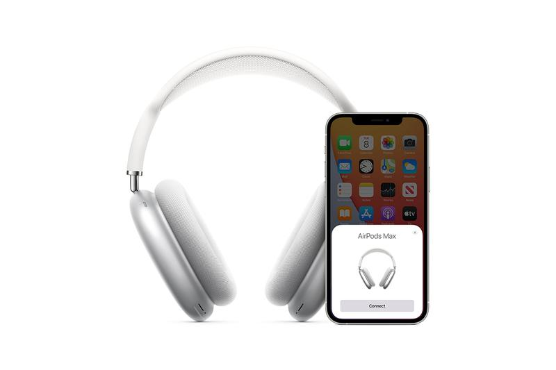 apple airpods max over headphones release information 549 usd silver white gray red blue green