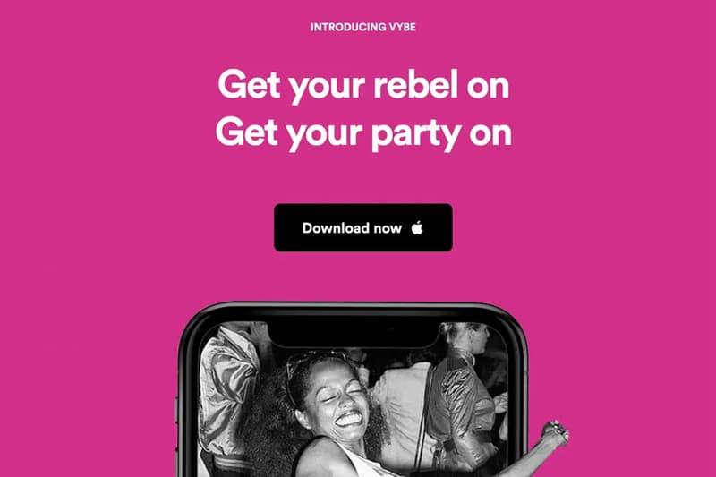 vybe together social gatherings parties coronavirus covid 19 apple iphone app store tiktok takedown removal shut down