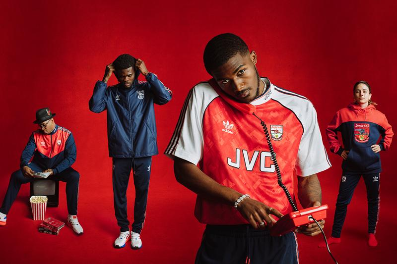 arsenal fc adidas originals 1990s apparel capsule 1990 1992 home jersey recreation buy cop purchase