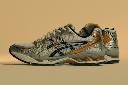 ASICS' GEL-KAYANO 14 Is Revived in Retro Gold-Tinged Colorway