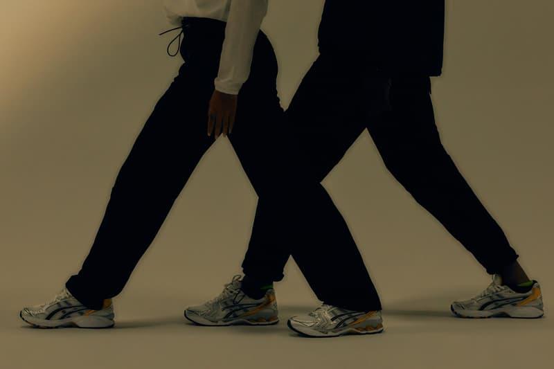 ASICS GEL-KAYANO 14 Gray Black Metallic Gold Colorway OG Sneaker 2008 Japanese Running Technical GEL Footwear Trainer Shoe Hidenori Yamashita Kiko Kostadinov