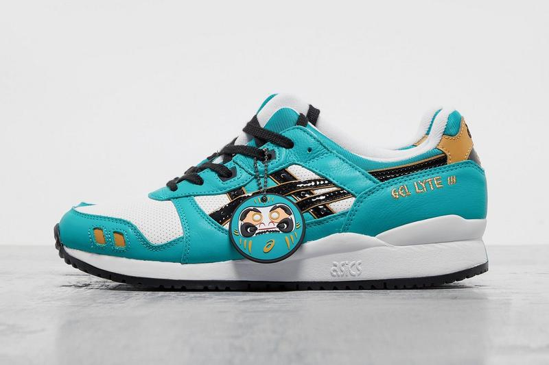 "ASICS GEL-LYTE III ""Baltic Jewel"" Matsui-San Tri-Density Midsole Split Tongue Footpatrol Daruma Dolls Traditional Japanese Bodhidharma Buddhism Zen Sneaker Release Information Closer First Look Drop Date"
