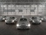 Aston Martin Completes Re-Makes of the DB5 Goldfinger From the James Bond Films