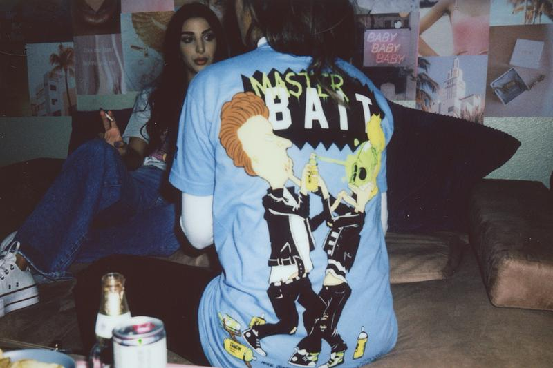 BAIT Beavis and Butt-Head Matt Gondek Capsule Apparel Pop-Art MTV Lookbooks