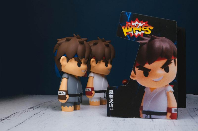 BAIT Returns With KOKIES for a New 'Street Fighter' Ryu Capsule toys figures BAIT Street Fighter Akuma Capcom video games