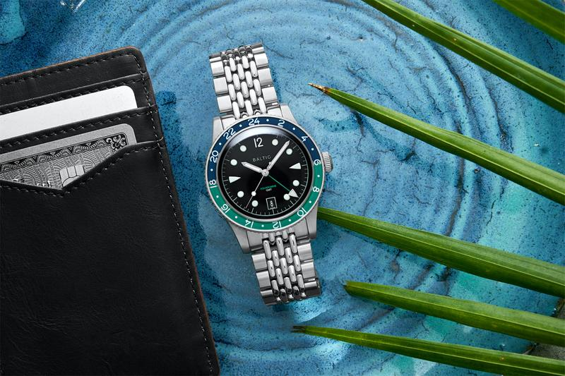baltic watches accessories dive gmt dual timezone vintage retro inspired aquascaphe
