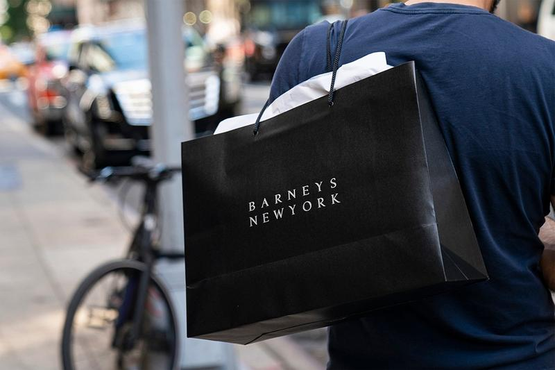 barneys new york luxury department store chapter 11 bankruptcy reopening 2021 authentic brands group