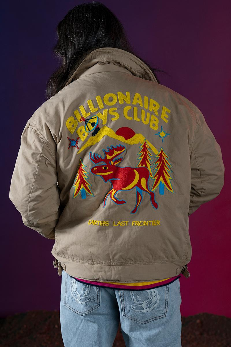 billionaire boys club winter collection puffer jacket hoodie t-shirt jersey release info date pricing photos buying guide