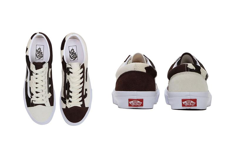 """BILLYS x Vans V36OG """"BROWN REMIX"""" Cow Sneaker collaboration tokyo ent style 36 mismatched asymmetric japan release date info buy year ox"""