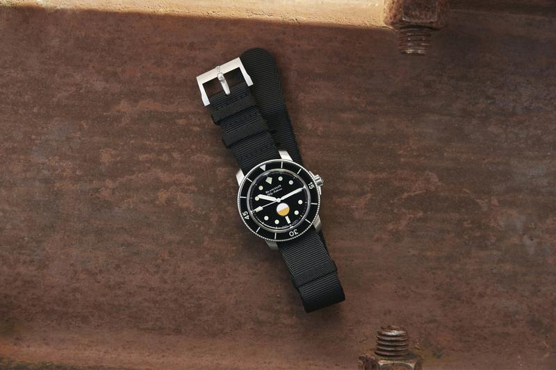 hodinkee watch blog new york blancpain fifty fathoms mil spec diver diving scuba limited edition military