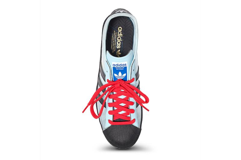 blondey mccoy adidas skateboarding originals superstar starlight blue black red interview q and a official release raffle date info photos price store list buying guide