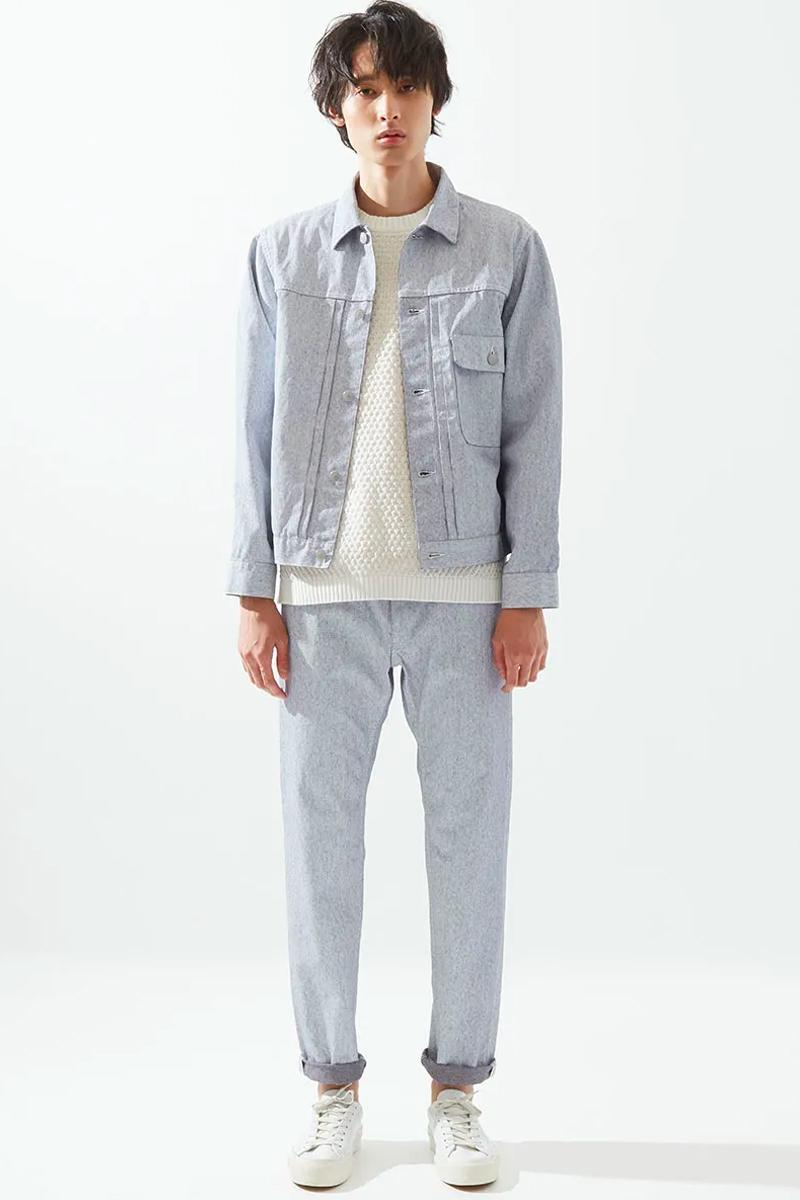 Blue Blue Japan Spring Summer 2021 Lookbook menswear streetwear jackets shirts tees pants trousers ss21 collection button ups