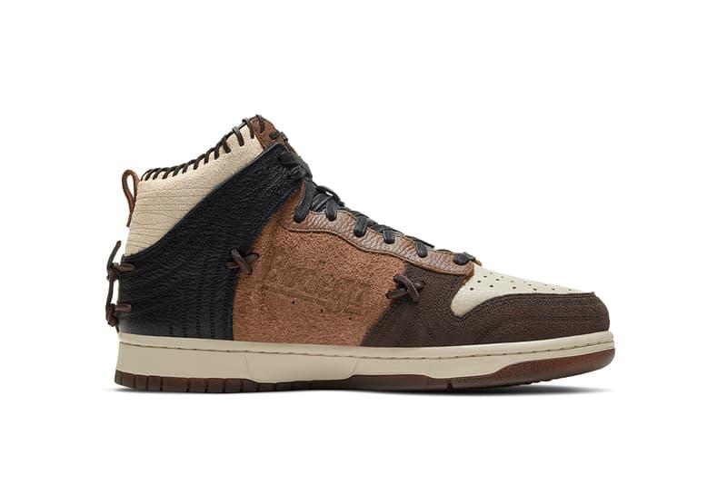 bodega nike dunk high legend fauna brown CZ8125 200 release info photos store list rustic velvet brown release info date