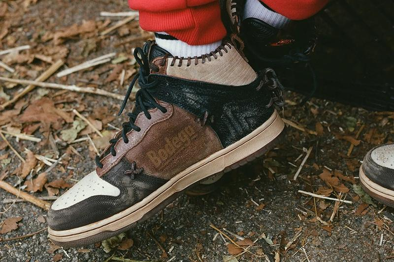 bodega nike sportswear dunk high legend CZ8125 200 fauna brown rustic velvet multi color tortishell official release date info photos price store list buying guide