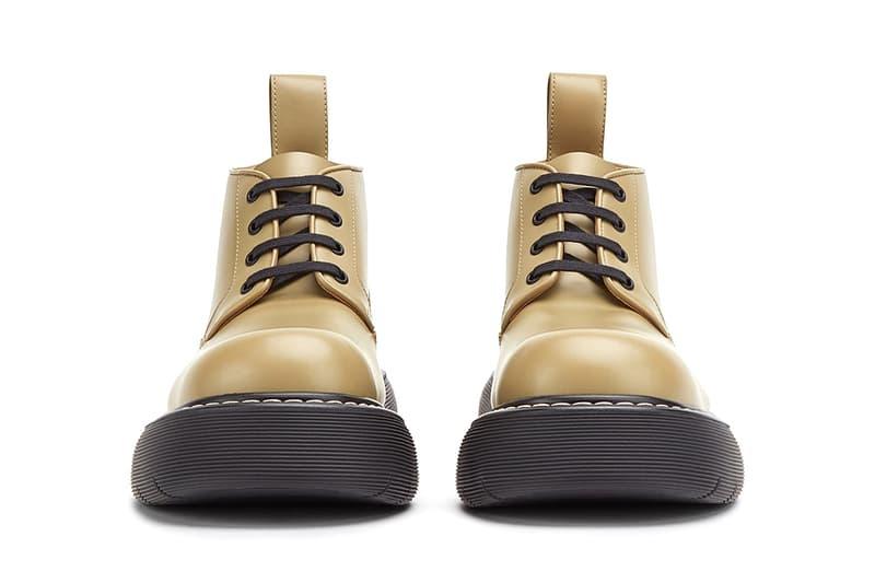bottega Veneta bounce boots fall winter 2020 release information