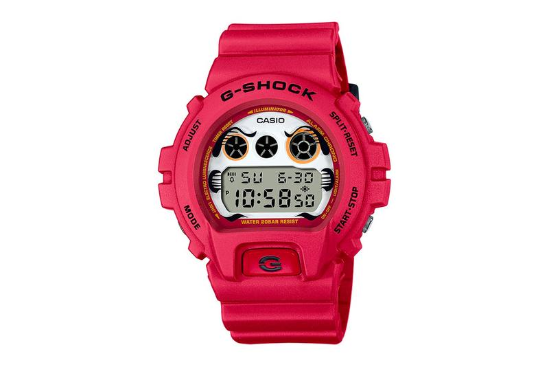 BlackEyePatch G SHOCK 2020 Daruma Capsule release watches accesories red dw 6900 dw 5600 ga 100 release