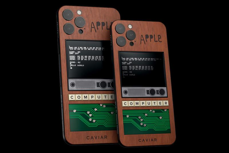 Caviar Apple 1 iPhone 12 pro Max Steve Jobs and Steve Wozniak Apple 1 edition phones apple limited pc auctions collectibles