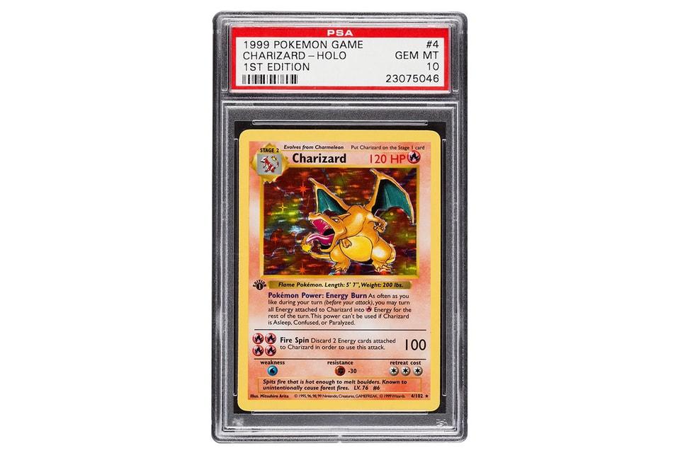 Charizard Pokémon TCG Card $350K USD Potential | HYPEBEAST