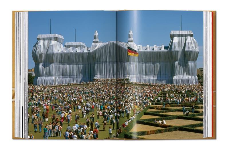 christo jeanne claude taschen book public art