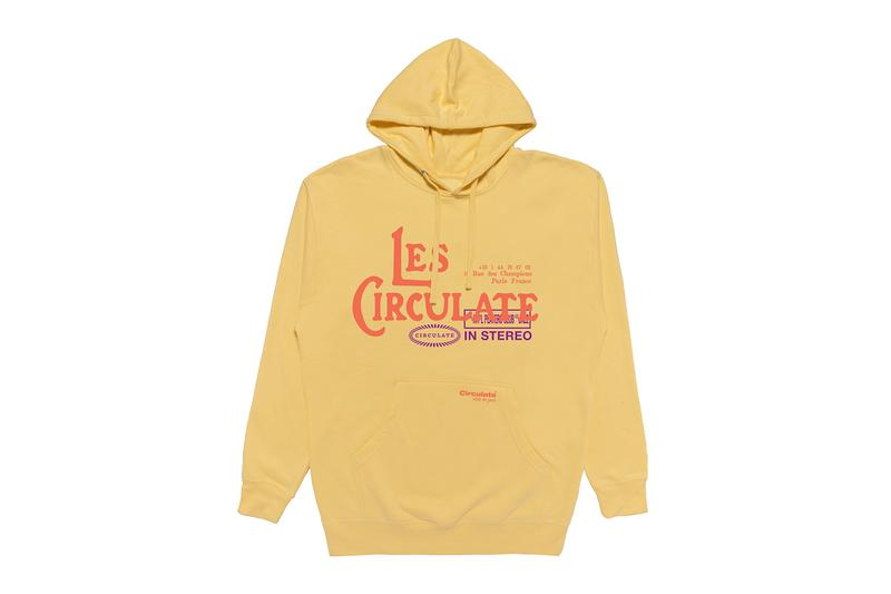 Circulate Seeing Sounds Capsule Release Info Collection Jacket Hoodie T shirt