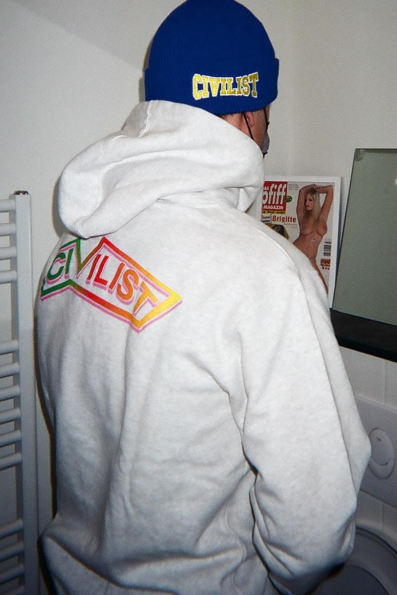 Civilist Berlin Joe Roberts LSD World Peace Collab Psychonaut Psychedelics Artist Winter 20 Collection Release