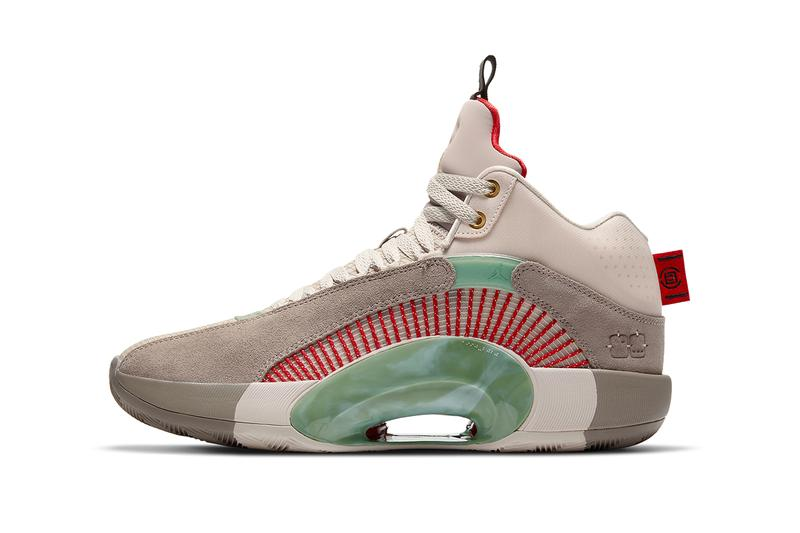 clot air jordan 34 collaboration DD9322 200 release info date price store list buying guide