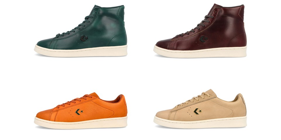 Converse Gives Its Latest Pro Leather Pack a Premium Horween Upgrade