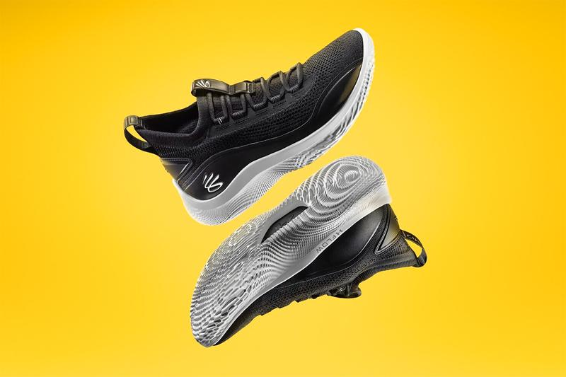 curry flow 8 curry brand under armour stephen curry black white ua flow basketball warriors release info date pricing info photos