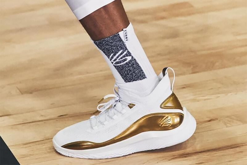 curry 8 golden flow release info white metallic gold under armour curry brand 3024456 102 stephen curry photos buying guide store list