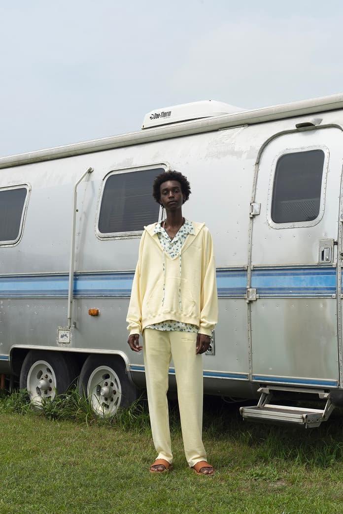 DAIRIKU Spring Summer 2021 collection ss21 menswear streetwear coats jackets grunge americana shirts pants trousers button ups
