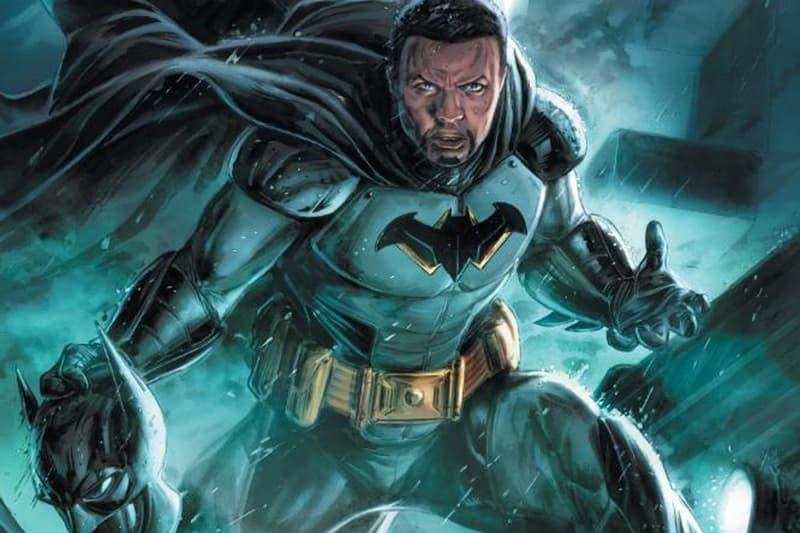 dc comics first black batman future state tim fox lucius bruce wayne enterprise mini series john ridley