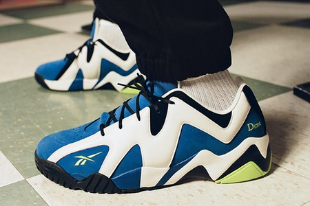 Dime and Reebok Intersect Skate and Basketball On A Kamikaze II Low Collection